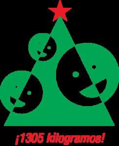 Recaudado en 2016 - 1305kg - Más Amor en Navidad - IAU